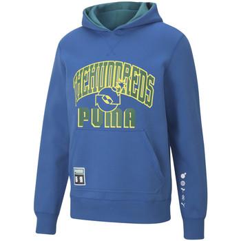 textil Herre Sweatshirts Puma x th rev hoodie Blå