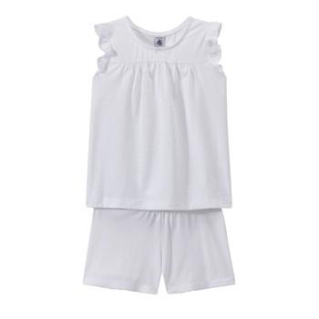 textil Pige Pyjamas / Natskjorte Petit Bateau FRIDGET Flerfarvet