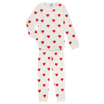 textil Pige Pyjamas / Natskjorte Petit Bateau MISON Flerfarvet