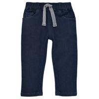 textil Dreng Smalle jeans Petit Bateau MILET Blå