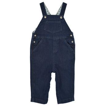 textil Dreng Buksedragter / Overalls Petit Bateau MILIBERT Blå