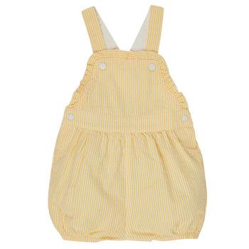 textil Pige Buksedragter / Overalls Petit Bateau MERINE Gul
