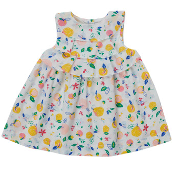 textil Pige Korte kjoler Petit Bateau MELIANA Flerfarvet