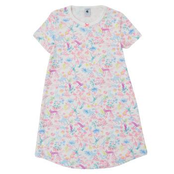 textil Pige Pyjamas / Natskjorte Petit Bateau MARTINE Flerfarvet