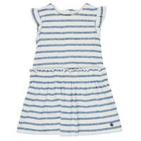 textil Pige Korte kjoler Petit Bateau MILANAIS Flerfarvet