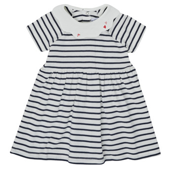textil Pige Korte kjoler Petit Bateau MEGHANE Flerfarvet