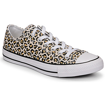 Sko Dame Lave sneakers Converse CHUCK TAYLOR ALL STAR ARCHIVE PRINT OX Leopard