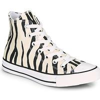 Sko Dame Høje sneakers Converse CHUCK TAYLOR ALL STAR ARCHIVE PRINT HI Zebra
