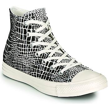 Sko Dame Høje sneakers Converse CHUCK TAYLOR ALL STAR DIGITAL DAZE HI Sort / Beige