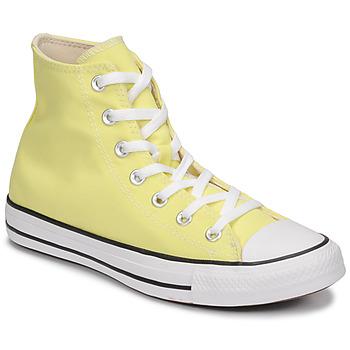 Sko Dame Høje sneakers Converse CHUCK TAYLOR ALL STAR SEASONAL COLOR HI Gul