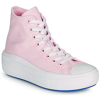 Sko Dame Høje sneakers Converse CHUCK TAYLOR ALL STAR MOVE ANODIZED METALS HI Pink