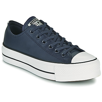 Sko Dame Lave sneakers Converse CHUCK TAYLOR ALL STAR LIFT ANODIZED METALS OX Blå