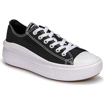 Sko Dame Lave sneakers Converse CHUCK TAYLOR ALL STAR MOVE CANVAS COLOR OX Sort