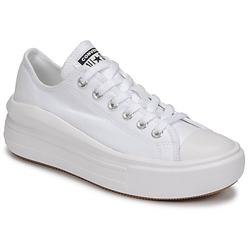 Sko Dame Lave sneakers Converse CHUCK TAYLOR ALL STAR MOVE CANVAS COLOR OX Hvid