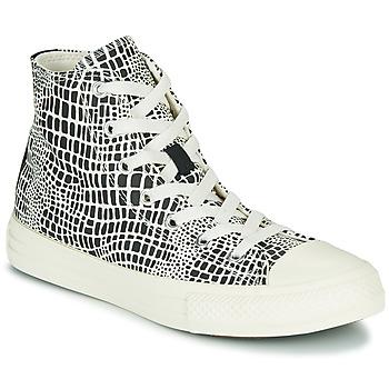 Sko Pige Høje sneakers Converse CHUCK TAYLOR ALL STAR DIGITAL DAZE HI Sort / Hvid