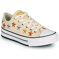 Sko Pige Lave sneakers Converse CHUCK TAYLOR ALL STAR EVA LIFT SPRING FLOWERS OX Hvid