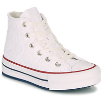 Sko Pige Høje sneakers Converse CHUCK TAYLOR ALL STAR LIFT LOVE CEREMONY HI Hvid