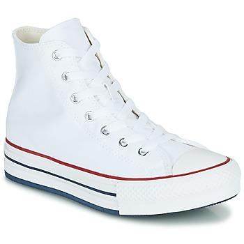 Sko Pige Høje sneakers Converse CHUCK TAYLOR ALL STAR EVA LIFT CANVAS COLOR HI Hvid