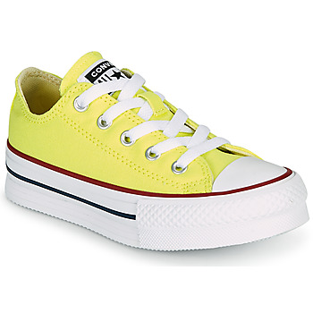 Sko Pige Lave sneakers Converse CHUCK TAYLOR ALL STAR LIFT CANVAS COLOR OX Gul