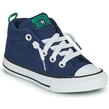 Sko Dreng Høje sneakers Converse CHUCK TAYLOR ALL STAR STREET CANVAS COLOR MID Blå