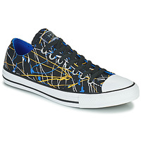 Sko Herre Lave sneakers Converse CHUCK TAYLOR ALL STAR ARCHIVE PRINT - PAINT SPLATTER OX Sort