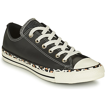 Sko Dame Lave sneakers Converse CHUCK TAYLOR ALL STAR ARCHIVE DETAILS OX Sort / Leopard