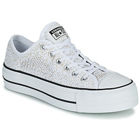 Sko Dame Lave sneakers Converse CHUCK TAYLOR ALL STAR LIFT BREATHABLE OX Hvid