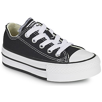 Sko Pige Lave sneakers Converse CHUCK TAYLOR ALL STAR EVA PLATFORM FOUNDATION OX Sort