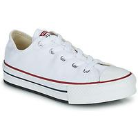 Sko Pige Lave sneakers Converse CHUCK TAYLOR ALL STAR EVA PLATFORM FOUNDATION OX Hvid