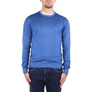 textil Herre Pullovere La Fileria 22792 55167 Blue