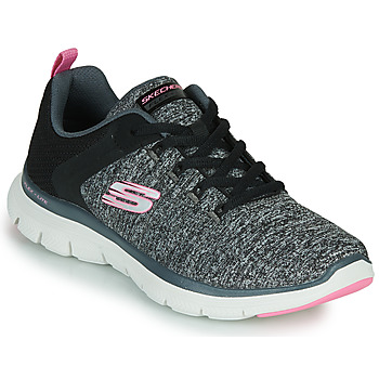 Sko Dame Fitness / Trainer Skechers FLEX APPEAL 4.0 Grå / Pink