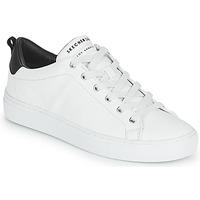 Sko Dame Lave sneakers Skechers SIDE STREET Hvid