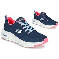 Sko Dame Lave sneakers Skechers ARCH FIT Marineblå / Pink