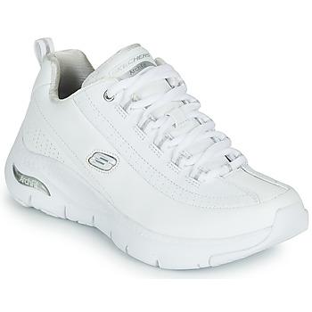 Sko Dame Lave sneakers Skechers ARCH FIT Hvid