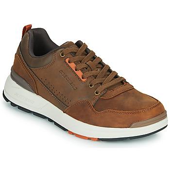 Sko Herre Lave sneakers Skechers FAIRLINE Brun