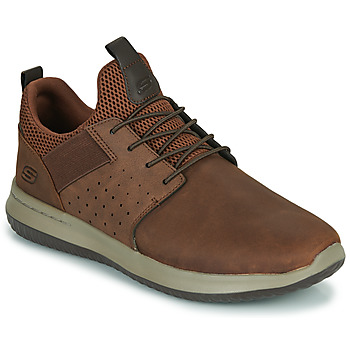 Sko Herre Lave sneakers Skechers DELSON AXTON Brun