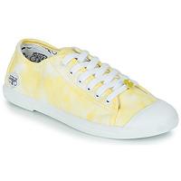 Sko Dame Lave sneakers Le Temps des Cerises BASIC 02 Gul