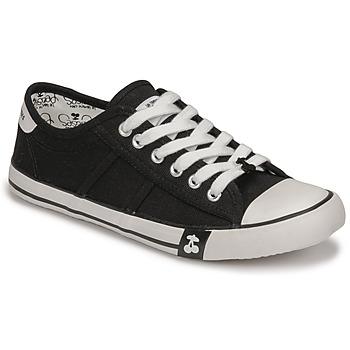 Sko Dame Lave sneakers Le Temps des Cerises EASY Sort