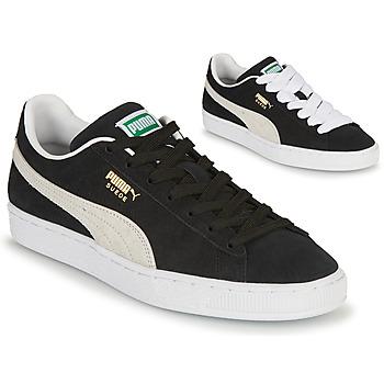 Sko Lave sneakers Puma SUEDE Sort