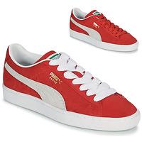 Sko Lave sneakers Puma SUEDE Rød