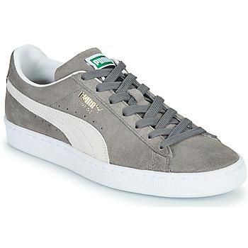 Sko Lave sneakers Puma SUEDE Grå