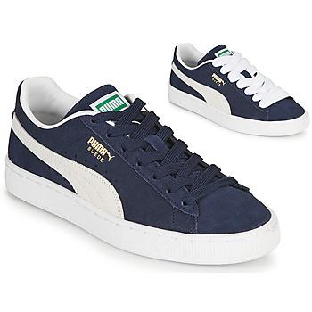 Sko Lave sneakers Puma SUEDE Blå