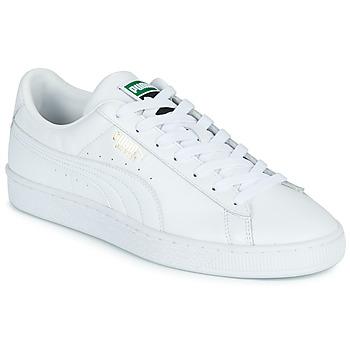 Sko Herre Lave sneakers Puma CLASSIC Hvid