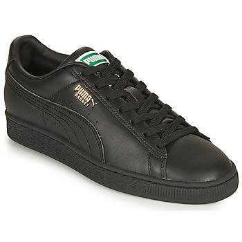 Sko Lave sneakers Puma CLASSIC Sort