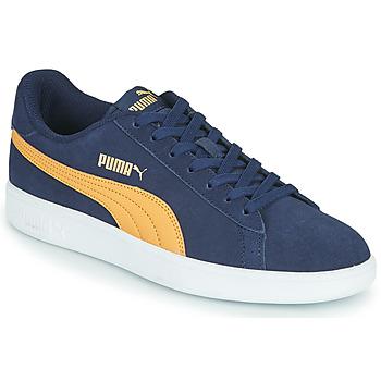 Sko Herre Lave sneakers Puma SMASH Blå / Beige