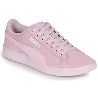 Sko Dame Lave sneakers Puma VIKKY Pink