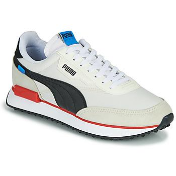 Sko Herre Lave sneakers Puma FUTURE RIDER PLAY ON Hvid / Sort / Rød