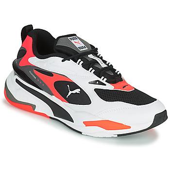 Sko Herre Lave sneakers Puma RS FAST Hvid / Sort / Rød