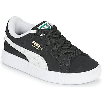 Sko Børn Lave sneakers Puma SUEDE PS Sort