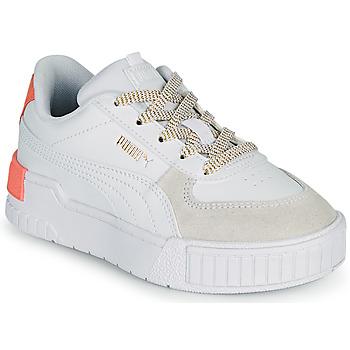 Sko Pige Lave sneakers Puma CALI SPORT PS Hvid / Pink